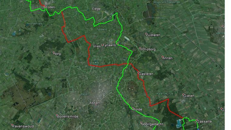 Route Sintmarun 2015 (bijgewerkt)